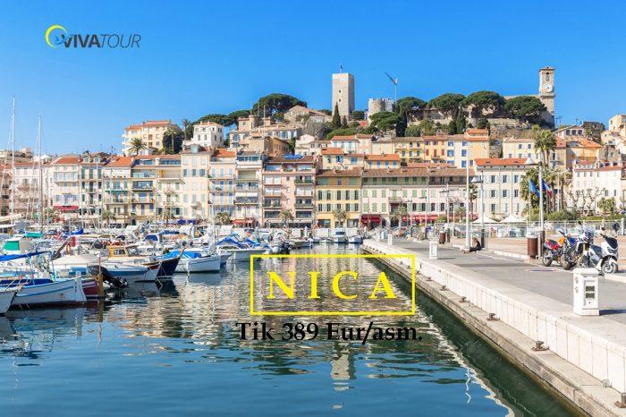 NICA 🥰3 n. atostogos žaviame#Prancūzijosmieste tik už389Eur/asm.🤩